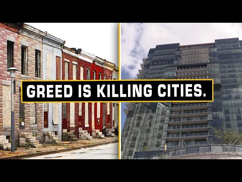 Elite Institutions Hoard Wealth While Cities Die Around Them