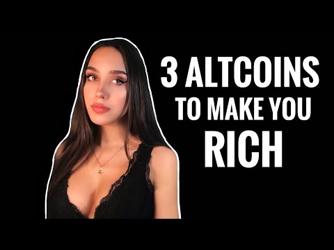 Top 3 Altcoins That Will Make You Rich In 2020