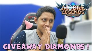 GIVEAWAY DIAMOND MOBILE LEGENDS ! #9