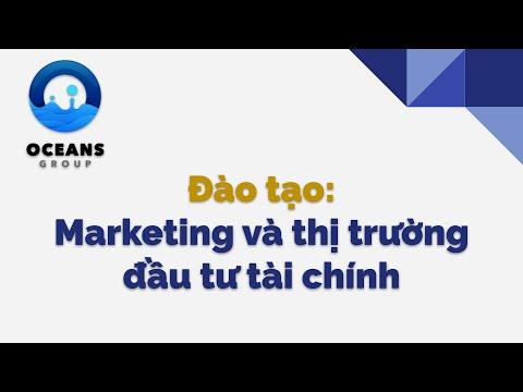 Đào tạo Marketing và Thị trường đầu tư tài chính [Zoom]