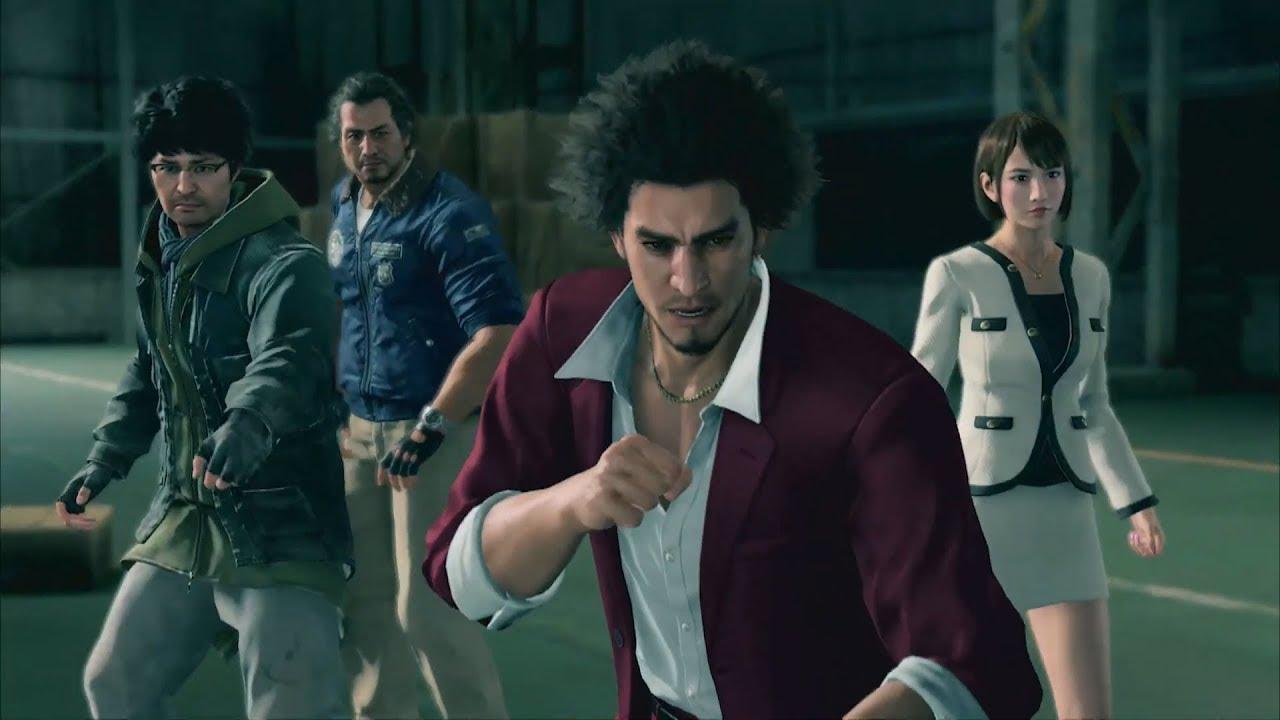 Yakuza Like A Dragon Heroes Of Tomorrow Gameplay Trailer Youtube