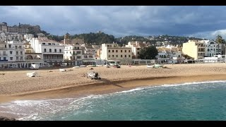 Tossa de Mar beach & Hotels Spain 2016