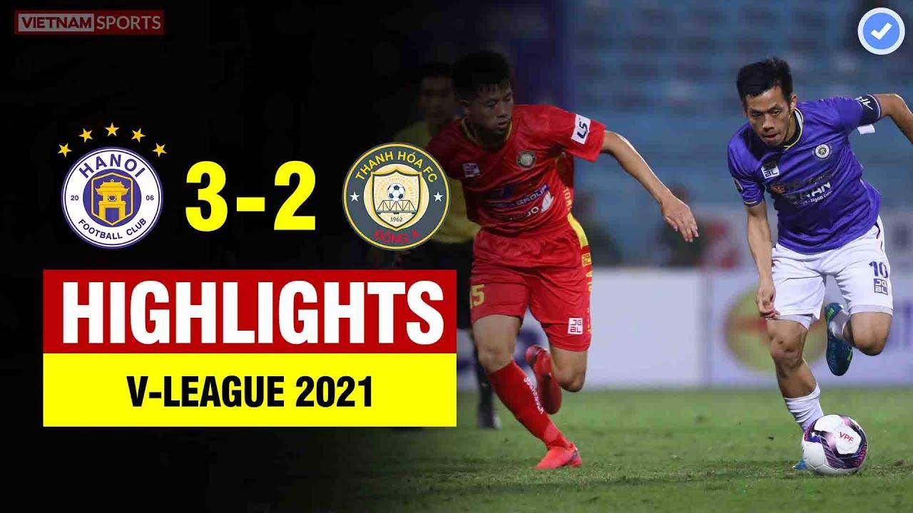 Highlights Hà Nội 3-2 Thanh Hóa | Rượt đuổi tỉ số ngoạn mục - kịch tính đến phút cuối cùng
