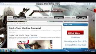 HOW TO DOWNLOAD INSTALL EMPIRE TOTAL WAR ON A PC