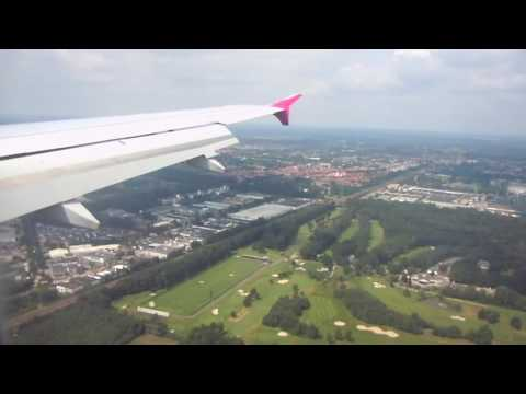 Landing at Eindhoven Airport