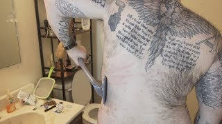 How to shave your back LIKE A BOSS | Bro Shaver