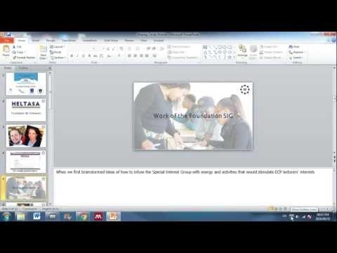 Simple screencasting using Electa-Live