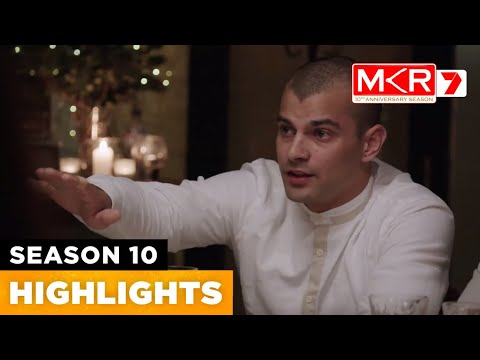 Victor Outs Piper For Lying | MKR Season 10 Episode 40