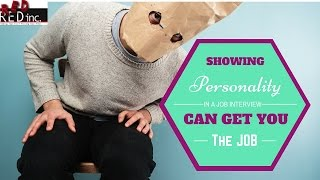 Job Interview Tips: Showing Personality in the Job Interview Can Set You Apart