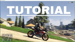 How To Install Bike Mods In GTA 5 ||KTM RC 390|| Tutorial  For Beginners {HINDI}