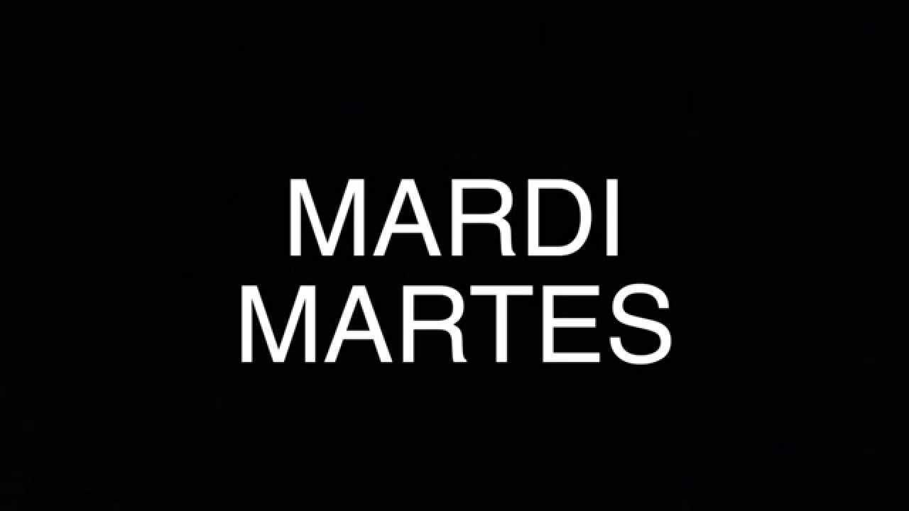 Souvent Cours d'Espagnol 101: Les Jours de la Semaine - YouTube US19