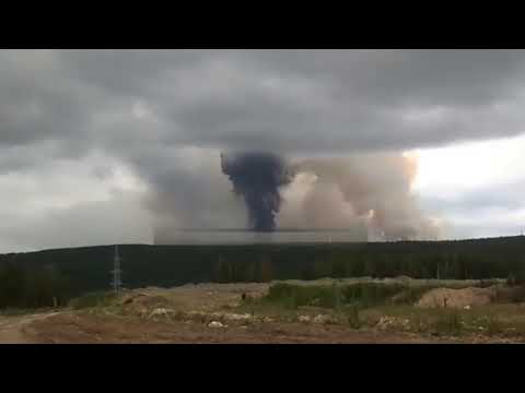 Woody and Wilcox - Huge Explosion At An Ammunition Dump In Russia