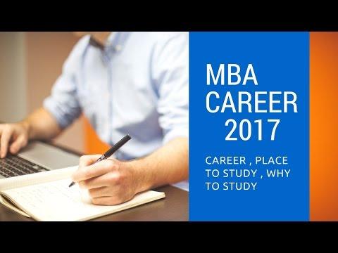 CAREER OPPURTUNITIES IN MBA