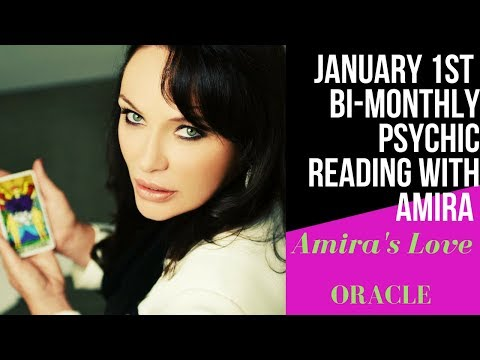 JANUARY 1ST NEW YEAR READING FOR ALL SIGNS WITH AMIRA