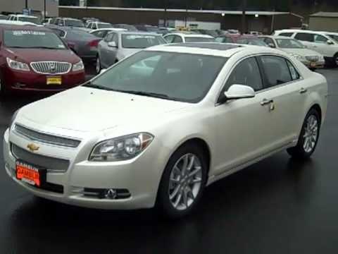White Malibu Car >> Sold 2011 Chevrolet Malibu Ltz Diamond White Art Gamblin Motors Chris Streuli 11154