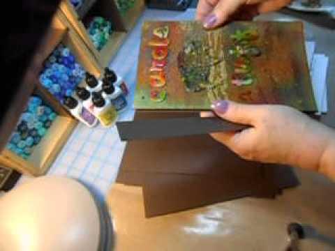 Organization for Pan Pastels plus Paint Tubes Plus...Make and Take