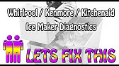 How to fix Freezing up water line ICE MAKER - YouTube Kenmore Refrigerator Schematic Diagram Model on