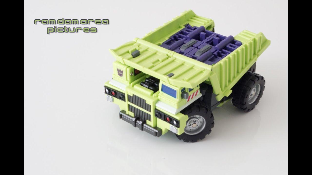 Transformers Maketoys Giant 05 Dump Truck Constructicon