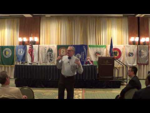 Jeff Schapiro at VACo Annual Conference 2015