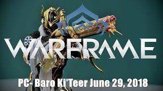 Warframe PC Baro Ki'Teer June 29 2018 Interesting Finds
