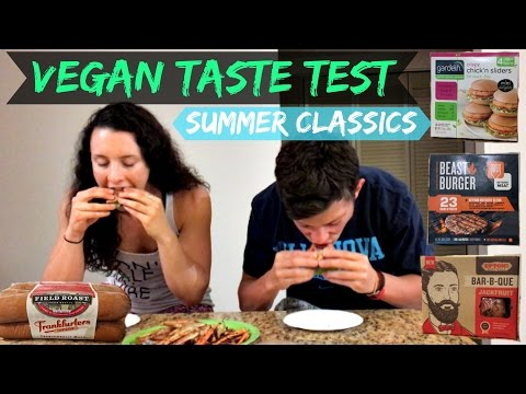 VEGAN TASTE TEST #1 | Summer Classics