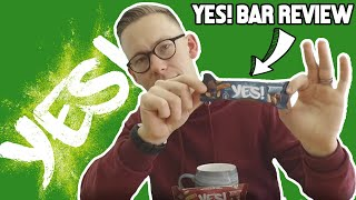 VEGAN GRANOLA YES! BAR  We review new recipe (by Nestle)  What&#39s not to love?!