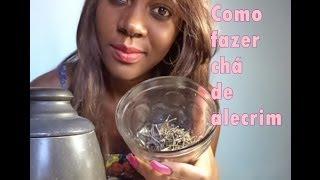 Como Fazer chá de alecrim para enxague capilar