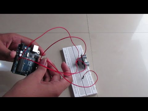 Tutorial on Ultrasonic sensor HC-SR04 - Connections, interfacing & coding with Arduino