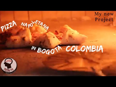 """THE FIRST REAL """"NEAPOLITAN PIZZA"""" IN COLOMBIA MY PROJECT CONTINUE..."""