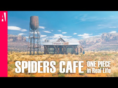 ONE PIECE - Spiders Cafe - In Real Life - Live Action