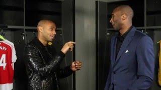 Thierry Henry and Kobe Bryant's Football Hero