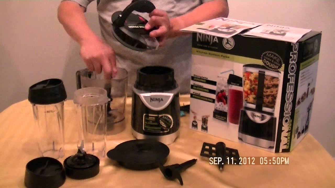 unboxing ninja kitchen system pulse my way the quick way - youtube