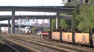 SOUNDER Commuter train, Seattle-Tacoma