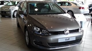 Volkswagen Golf 7 VII 2014 in depth review Interior Exterior