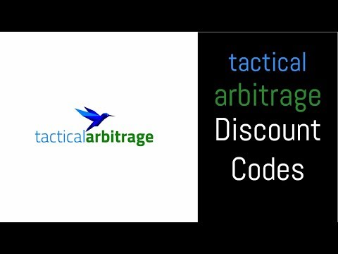 Tactical Arbitrage Discount Code - How to Find One