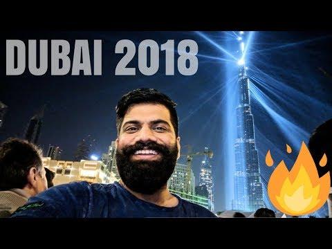 Happy New Year - Light Up 2018 Dubai - World Record Celebrations