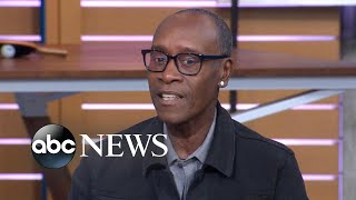 Did Don Cheadle reveal the new Avengers title?