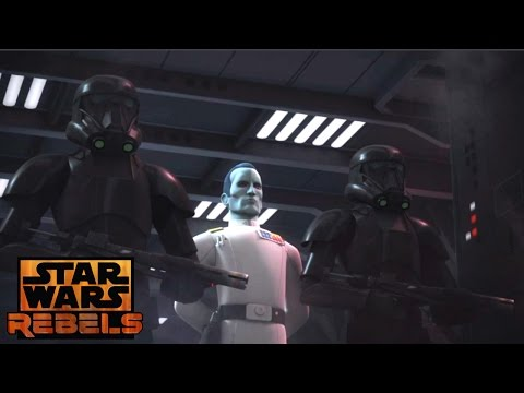 Star Wars Rebels: Thrawn Arrives on lothal with Death Troopers