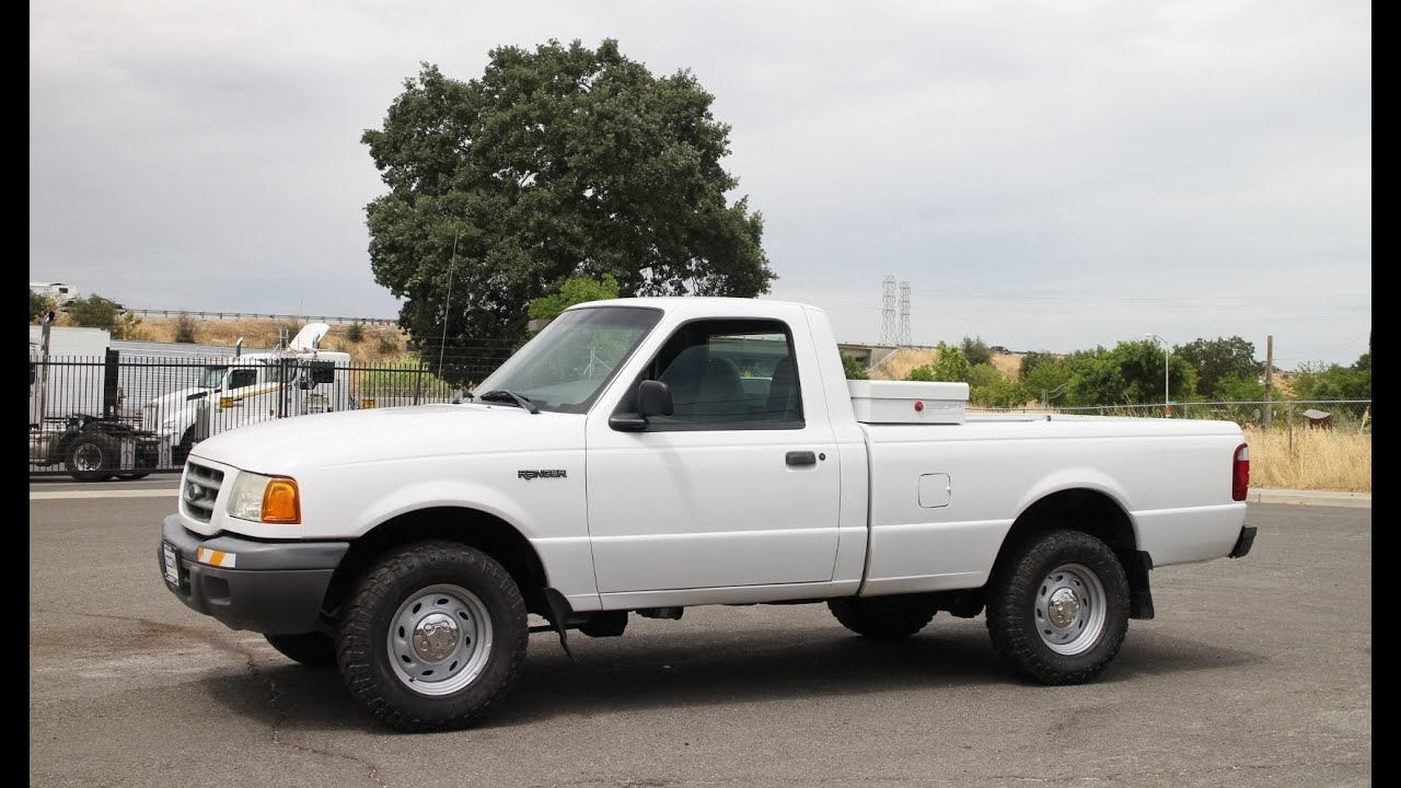 Utility Truck Beds For Sale >> 2002 Ford Ranger 4x4 Pickup Truck for sale by Truck Site - YouTube