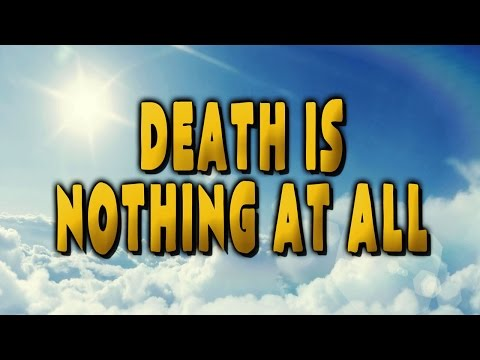 Death is Nothing at All — Poetry Time with Otis Jiry — Spiritual Funeral Poem