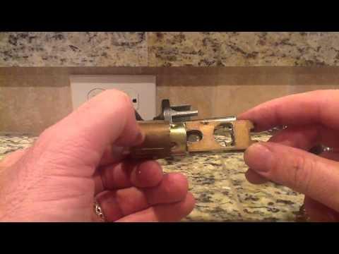 How To Remove A Broken Doorknob  YouTube