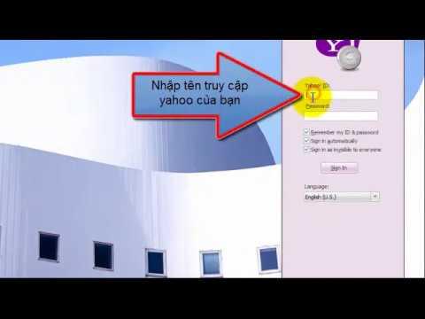 hướng dẫn đăng kí Email yahoo