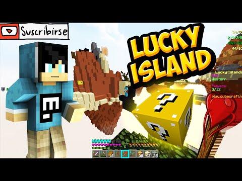 HAY QUE SER CURIOSOS - Lucky Blocks ( Lucky Island ) Minecraft