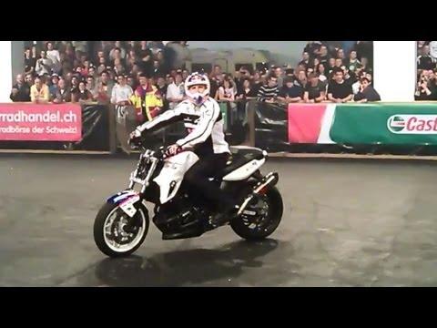 Swiss Moto Zürich 2012 - Streetbike Freestyle Motorcycle Stuntshow Compilation - Chris Pfeiffer