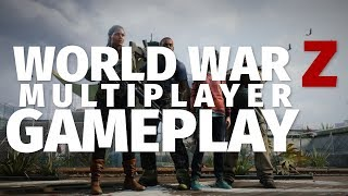 World War Z Multiplayer Gameplay - Swarm Deathmatch