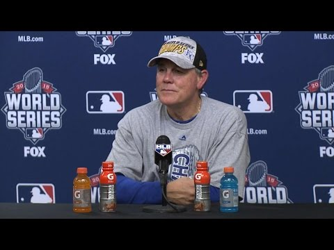 WS2015 Gm5: Yost on the Royals' World Series victory