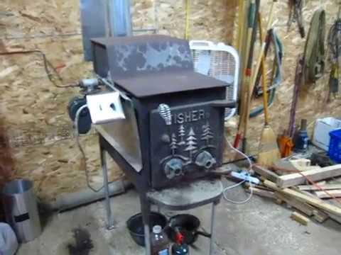 Homemade waste oil burner 2.0