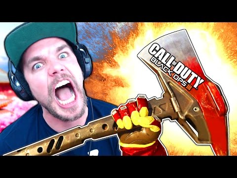 """BO3: NOUVELLE ARME """"HACHE ENFLAMMÉE"""" GAMEPLAY !!"""