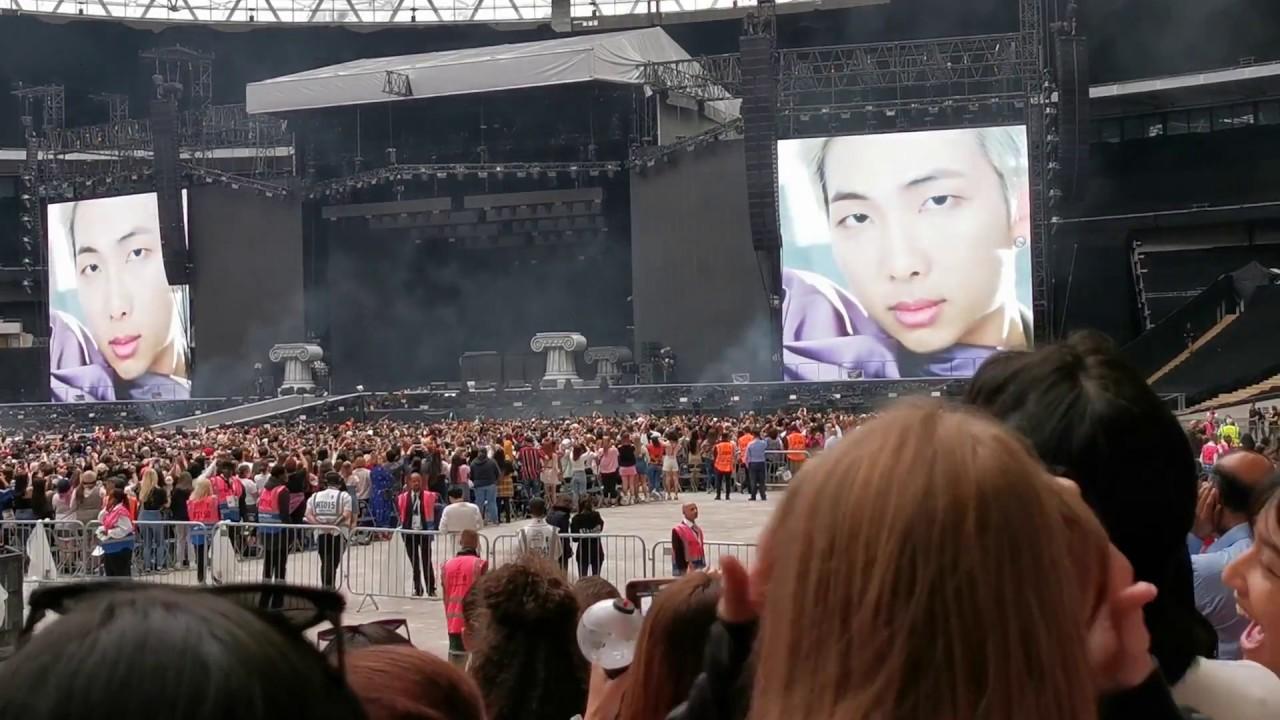 27 04 MB] Bts vcr1 + Dionysus + not today - Wembley London