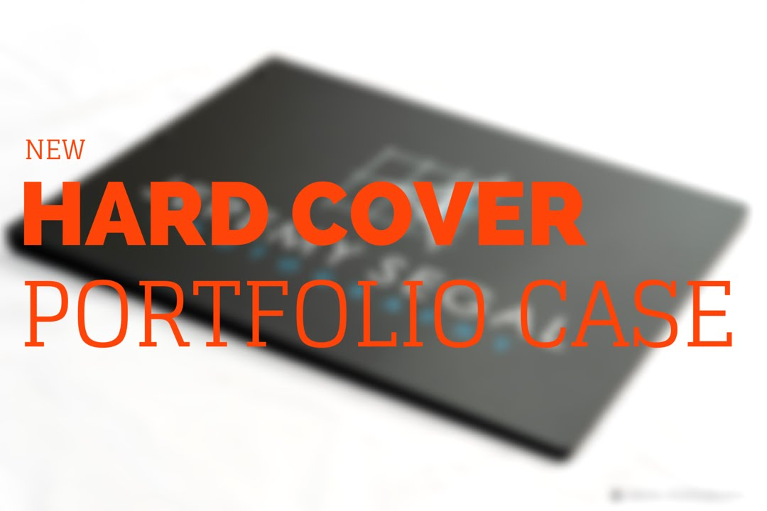 New Hardcover Portfolio Case for Architects Designers and